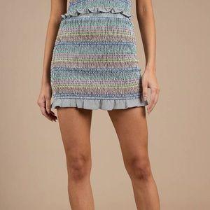 2 for $50 🌸 Storia stretchy multi coloured skirt